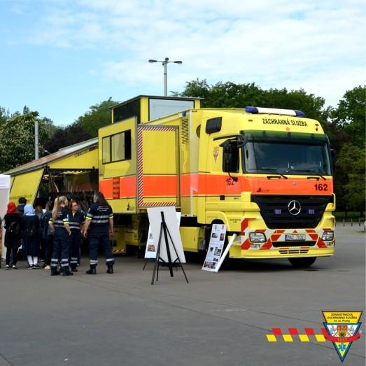 Zdravotnická záchranná služba hl. m. Prahy (ZZS HMP) - Golem
